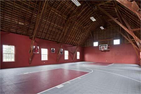 Oregon Farm Basketball Court