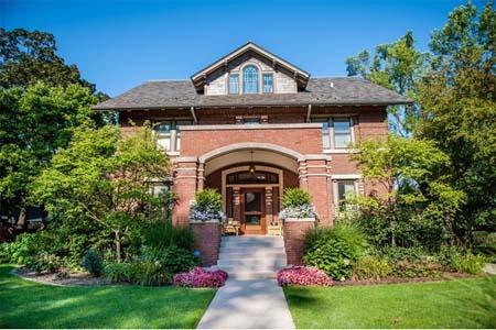 Landmark Oak Park Home Features Gorgeous Conservatory