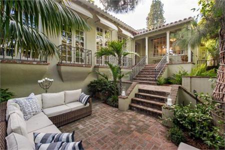 Jodie Foster's Sunset Strip Home