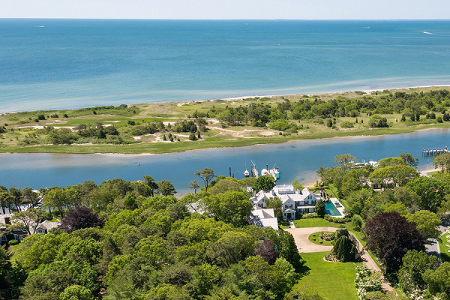 Bill Koch's Cape Cod Waterfront Estate