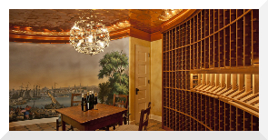 Wine Cellar in the Ardley House, Portland, OR