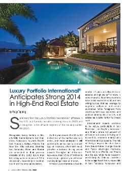 Luxury Portfolio Market Forecast in RISMedia