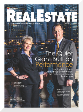 RIS Media Real Estate Magazine Cover Story on Luxury Portfolio