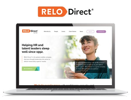 Relo Direct Website